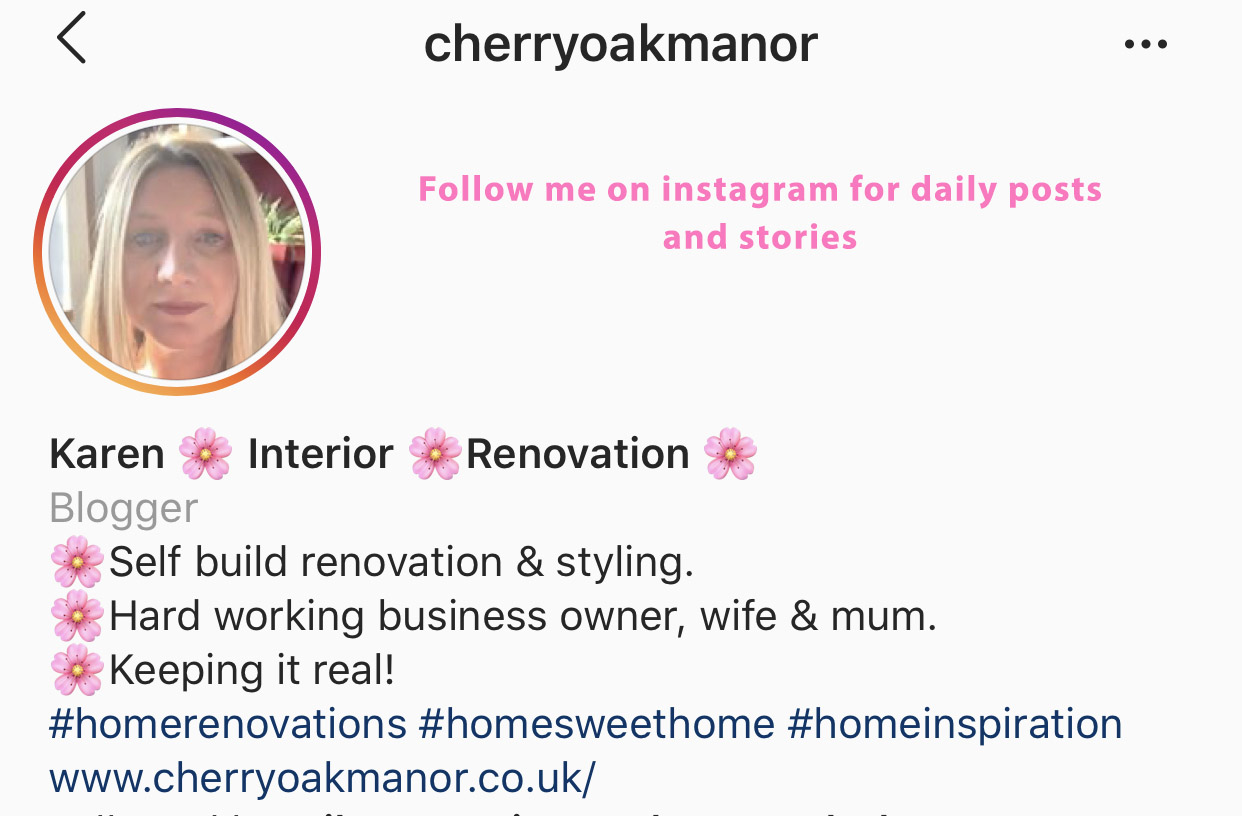 Follwo Cherry Oak Manor Instagram